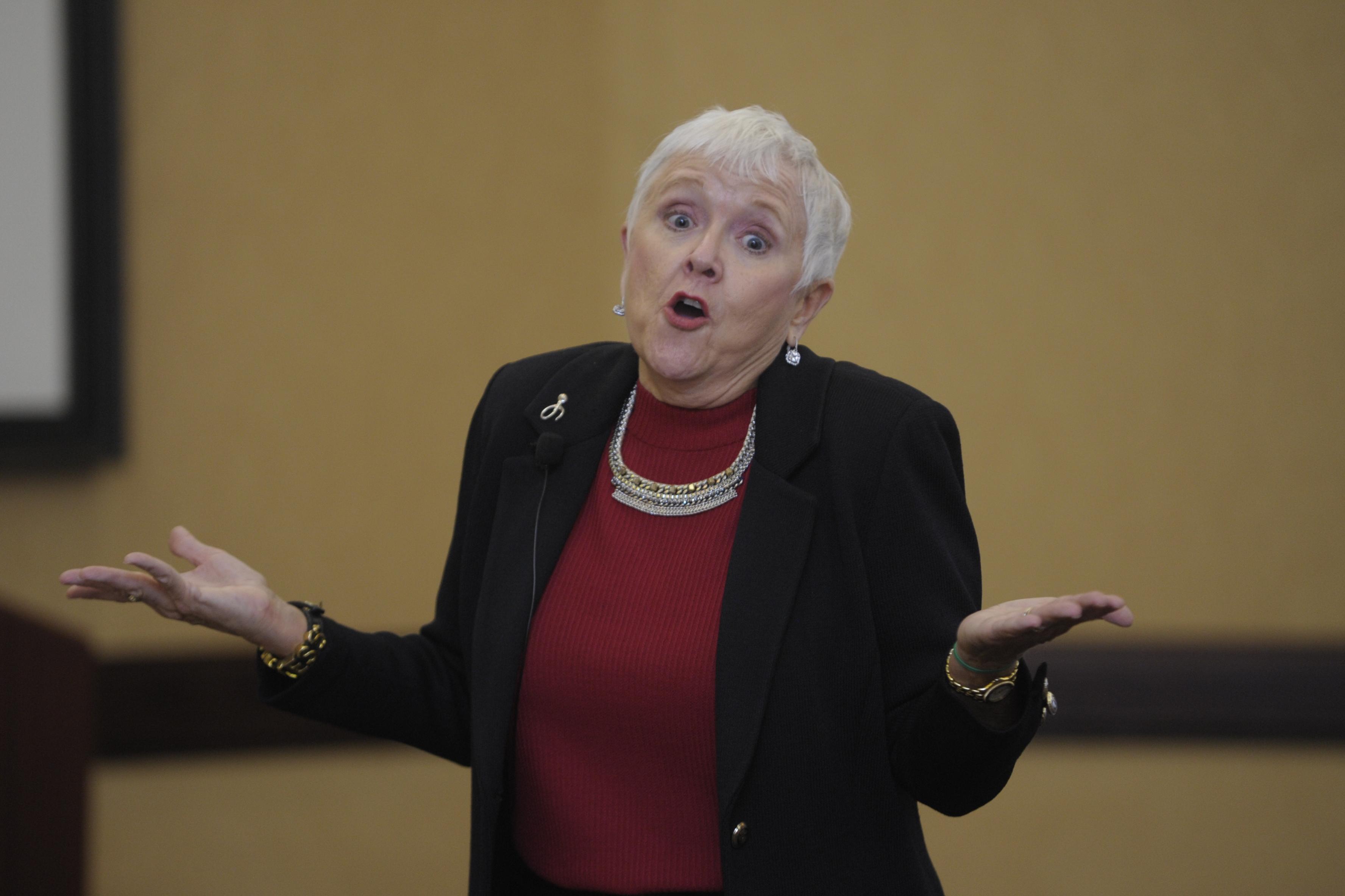 Inspirational Speaker Mary Redmond